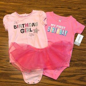 First birthday girl bundle